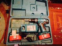Makita Drill (Good Working Order & Very Powerful) + With Box +