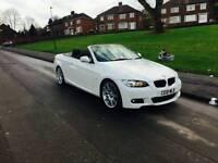 BMW 320d m sport highline convertible FSH 66k miles NOT audi a4 a3 a5 330 325 m3 replica
