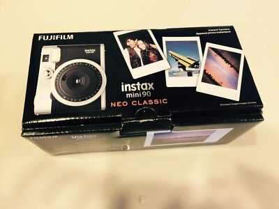 Fujifilm Instax Mini 90 Neo Classic Instant Film Camera -Black