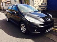 PEUGEOT 207 1.4 HDi S 5dr [AC] (blue) 2009