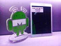 Samsung TAB SM-T810 16 GB WI-FI in white comes with charger and three months warranty