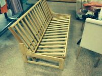 Brand New King Size Wooden Futon Sofa Beds - Last One Remaining