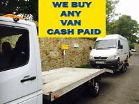 Mercedes sprinter & VOLKSWAGEN crafter lt van wanted!!!