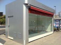 NEW KIOSK/shop/mobile/removable/catering trailer/van/street retail/container/coffee/food/bakery/bar