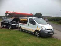 Wrong fuel? Petrol in diesel or vice versa? Mobile fuel drain service covering Swansea Bridgend