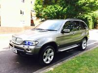 BMW X5 SPORT AUTOMATIC DIESEL 3L 2005 not a Range Rover Mercedece or jeep