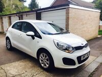 2013 Kia Rio 5 door hatchback, low mileage & long mot.Road Tax €30.