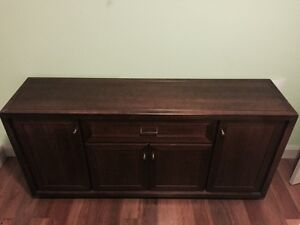 Wooden Wall Cabinet- MUST GO BY SATURDAY 30th Richmond Yarra Area Preview