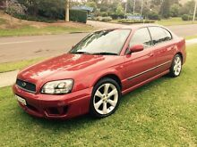 Subaru Liberty GX AWD 2001 MY02 Sedan Auto Low 152000 Klms Dural Hornsby Area Preview