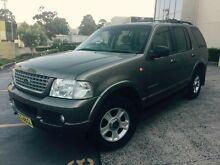 Ford Explorer Limited V8 2002 Auto Low 185000 Klms Dural Hornsby Area Preview