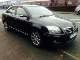 Toyota avensis 2.0d black 1years mot full service history swap px welcome