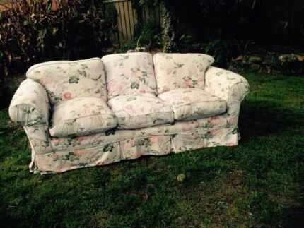 2 x 3-seater sofas with loose covers Bowral Bowral Area Preview