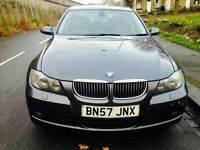 2007 BMW 3 Series 3.0 325d Auto SAT Nav+i Drive+Leather M Soprt Spec Pack Swap p/x welcome