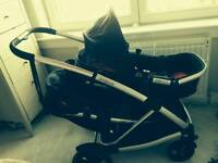 Phil & and Teds Promenade double/twin Pushchair
