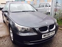 BMW 520D 2.0 DIESEL AUTOMATIC SE 2008 SAT NAV LEATHER SEATS BLUETOOTH 1 OWNER