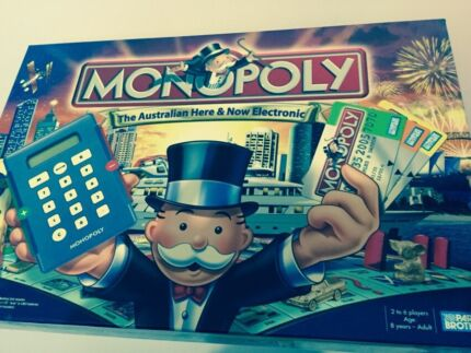 Monopoly - modern Electronic Version Blakeview Playford Area Preview