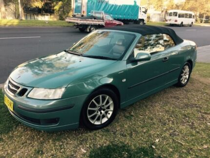 Saab 9-3 2004 MY04 Convertible Automatic Roof Needs Attention Castle Hill The Hills District Preview
