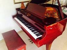 Alex Steinbach Grand Piano - Symphony in polished mahogany Campbell North Canberra Preview