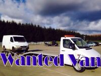Mercedes sprinter Toyota Hiace Mitsubishi canter Volkswagen crafter wanted!!!