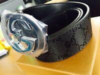 Men's Gucci belt black