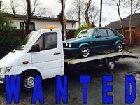 WANTED!!! VOLKSWAGEN CARS - PASSAT & GOLF