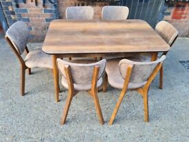 Brand new dining table and chairs