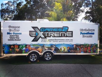 Mobile gaming trailer + website