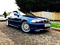 "BMW 325 M SPORT, FULL CREAM LEATHER, 18"" ALLOY WHEELS, LONG MOT, SERVICE HISTORY,"