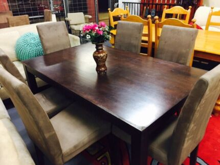 Dining Table With 6 Chairs EXPRESS DELIVERY TODAY