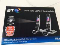 Cordless BT twin phone set