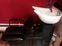 Salon Backwash unit