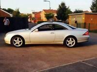 mercedes cl500 amg 360 bhp rear car not c63 cl55 cl600 audi bmw skoda passat