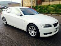 2008 BMW 325I 3.0 Coupe White M Sport Specs REDUCED TO CLEAR Swap P.x Welcome
