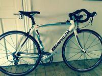 Bianchi mens road bike via nirone c2c carbon forks