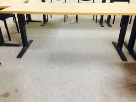 ADJUSTABLE OFFICE TABLES - 7 Available