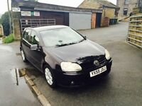 2006 55 VW GOLF 2.0 GT TDI 140 12 MONTHS MOT