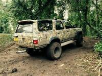 Toyota Hilux Surf 4x4 modified off road
