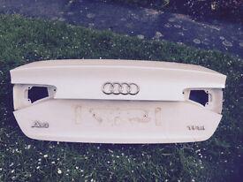 Audi A4 2012 b8 boot lid face lift model