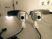 2 NEW CCTV CAMERAS FOR SALE. 250 POUNDS EACH.