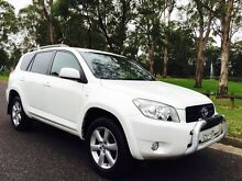 2006 Toyota Rav 4 Cruiser 4x4 Wagon Automatic Pearl White Liverpool Liverpool Area Preview