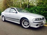 BMW 5 SERIES 2.5 525i AUTO SPORT #FULL SERVICE HISTORY WITH BILLS #LAST OWNER 10 YEARS # LONG MOT
