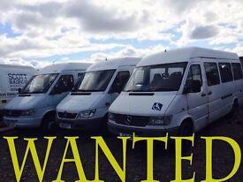 Mercedes sprinter van wanted!!!