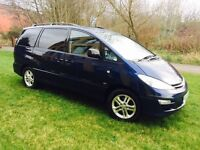 Toyota Previa 2.0 D4D, SAT NAV, MOON ROOF, EXCELLENT GEARBOX AND CLUTCH.