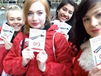 £10 Per Hour Paid ( And £10 Travel ) To Confident And Friendly Promo Staff in Edinburgh!