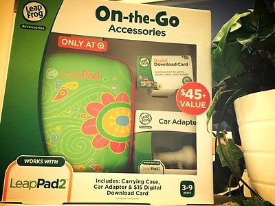 Leapfrog Leappad Accessories On-the-go Bundle