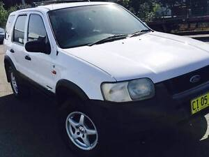 2001 Ford Escape Wagon log book services history Belmore Canterbury Area Preview