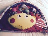 Mamas & Papas - Lotty Ladybird light & sound playmat & gym