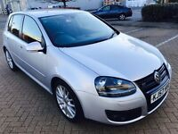 VW Golf GT Sport Tdi ,Diesel,only 78k miles,cam belt and water pumped changed,Service History