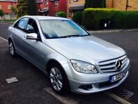 2010(60) Mercedes C220 Executive SE CDI **AUTOMATIC** Sat NAV, Bluetooth, DVD, Long MOT March 2019