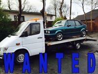 WANTED!!! VOLKSWAGEN CARS - GOLF & PASSAT